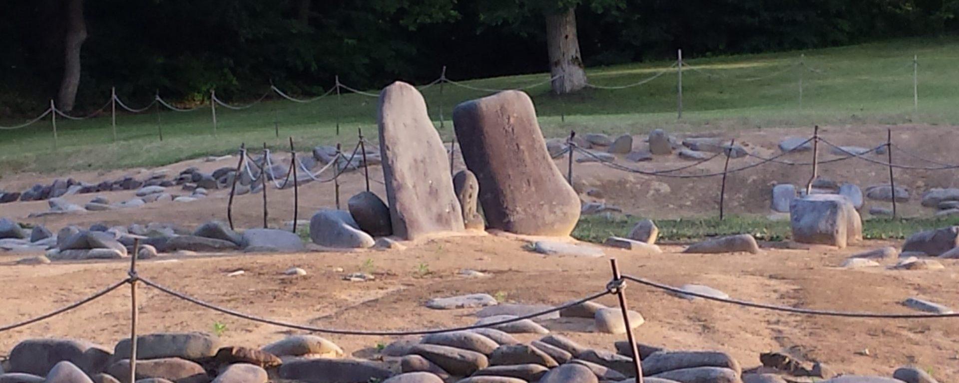 Komakino engraved stones