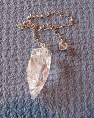 himalayan crystal pendulum